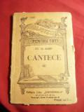 St.O.Iosif- Cantece -BPT 1340 ,interbelica Ed.Universala Alcalay ,80 pag