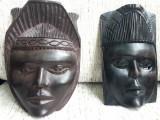 Masca abanos, arta africana, tribala