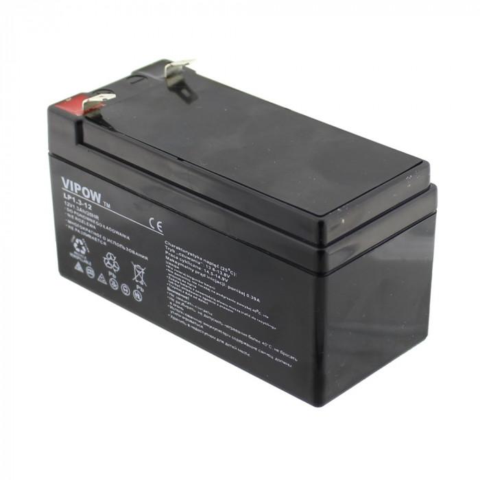 Acumulator gel-plumb, 12V, 1,3Ah, Vipow - 402713