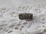 INEL argint MODERNIST impecabil SPLENDID de efect MASIV rar SUPERB marcaj vechi