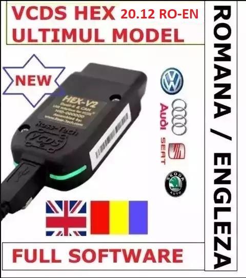 VCDS VAG COM 20.12 Romana-Engleza VW AUDI SKODA SEAT