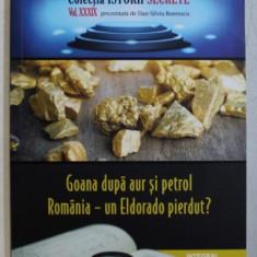 GOANA DUPA AUR SI PETROL - ROMANIA - UN ELDORADO PIERDUT ? de DAN - SILVIU BOERESCU , 2019