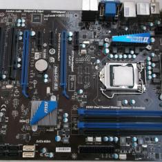 Kit  Gaming  Placa de baza MSI Z68A-G45 (B3) + Intel Core i5 3470