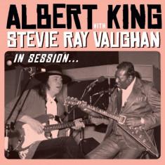 Albert King S. R. Vaughan In Session cd case (cd+dvd)