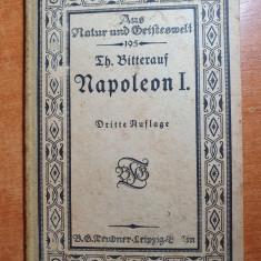 cartea napoleon 1 - in limba germana 1916