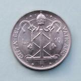 VATICAN  -  10 Lire 1967  -  Pavlvs VI  -  aUNC