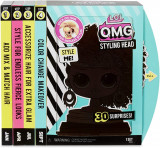 566229 Papusa manechin L.O.L. Surprise! Styling Head OMG - Royal Bee