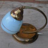 Cumpara ieftin LAMPA ELECTRICA VECHE DE NOPTIERA - FACUTA DIN TABLA ALAMITA - ANII 1960