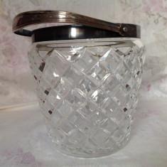 Frapiera vintage cristal fatetat , WMF
