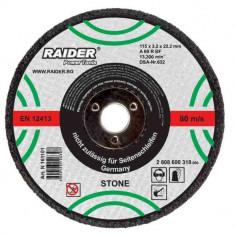 Disc pentru taiere piatra 115 x 3.2 mm