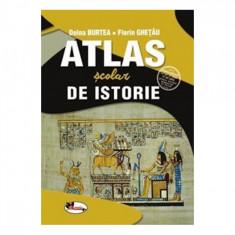 Atlas scolar de istorie - Doina Burtea, Florin Ghetau