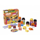 Joc de construit Family Diversity Miniland, 33 piese