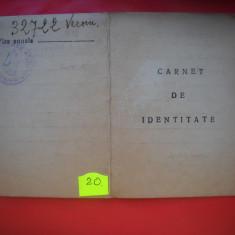 HOPCT CARNET DE IDENTITATE /AUSWEIS 1942 ROMANIA-OCUPATIE MILITARA GERMANA