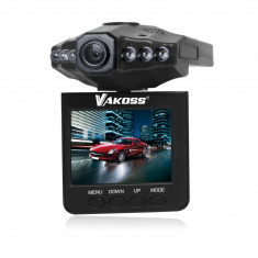 Vakoss Camera Video Auto Masina HD VC-605 negru