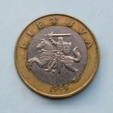 LITUANIA  -  2 Litai 1999