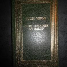 JULES VERNE - CINQ SEMAINES EN BALON