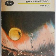 Versuri – Geo Dumitrescu