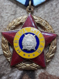 Medalie meritul militar cls.3 rsr