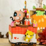 Cumpara ieftin Cutie Muzicală 3D Puzzle DIY Sweet Heart