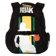Rucsac Greek FR34, 38 x 46 x 18 cm, model basketball