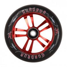 Roata Trotineta AO Quadrum 110mm Red + Abec 7