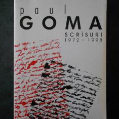 PAUL GOMA - SCRISURI 1972-1998  (1999, editie integrala)