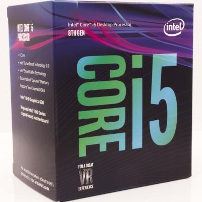 Procesor Intel® Core™ i5-8400 Coffee Lake, 2.80GHz, 9MB, Socket 1151 - Chipset seria 300, BOX foto