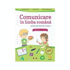 Comunicare in limba romana - Auxiliar pentru clasa I - Partea a II-a