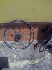 Roata spate Bicicleta Electrica  cu motor 28 inch DHS -Md BFSWXH36V250W foto