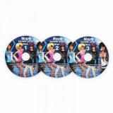 Cumpara ieftin Auna Karaoke CD + G set de 3 piese