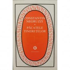 Pacatele tineretelor (ed. necartonata) - Constantin Negruzzi