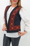 Cumpara ieftin Vesta brodata cu model traditional Narci 2
