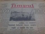 Timpul, 19 11 1941 teroristii bolsevici rapsc noaptea copii si femeile din sate