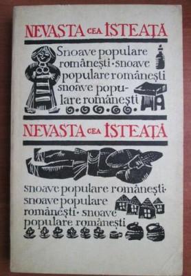 Nevasta cea isteata  : snoave populare romanesti foto