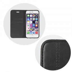 Husa SAMSUNG Galaxy Note 9 - Leather Prestige TSS, Negru