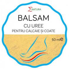 Balsam cu uree pentru coate si calcaie, 50ml - ENATURA