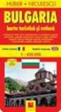 Bulgaria. Harta turistica si rutiera/Huber Niculescu