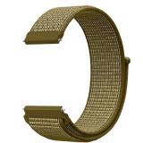 Curea material textil, compatibila cu Huawei Watch GT, Telescoape QR, 22mm, Tan Brown