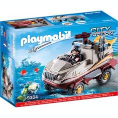 Playmobil City Action - Camion amfibiu