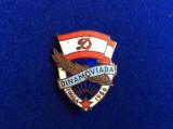INSIGNA SPORTIVA - ROMANIA - DINAMO - FINALA DINAMOVIADA - 1956 (2)