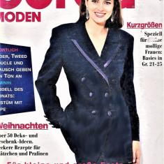 Burda revista de moda insert in limba romana 47 tipare 11/1995  (croitorie)