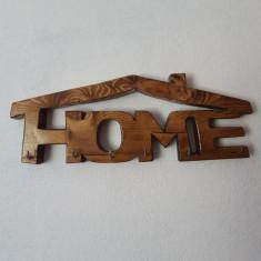 Suport din lemn pentru chei realizat manual