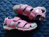 Sandale fetite piele naturala Geox Respira. Marime 33 (21 cm talpic); impecabile, Din imagine