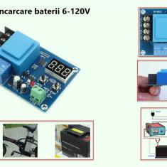 Controler incarcare baterie 6-120V DC