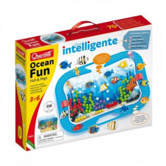 Jucarie Ocean Fun Fish and Pegs 0969 Quercetti