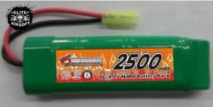 Baterie NiMh 8.4 V 2500 mAh [DRAGONPRO]