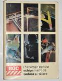 Indrumar pentru echipament de sudura si taiere - 1970 BOC