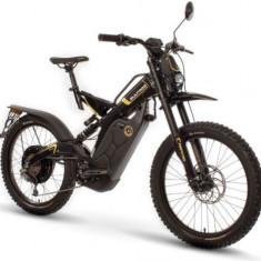 Bicicleta electrica Bultaco Brinco C BH0B2B1BEU10E, Viteza maxima 45 km/h, Roti 24inch, Lumini LED (Negru)