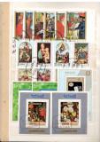 Manama.Lot peste 70 buc. timbre+109 buc. colite stampilate serii si dep. DL.42, Asia