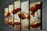 Cumpara ieftin Tablou decorativ pe panza Majestic, 5 Piese, 257MJS3217, Multicolor